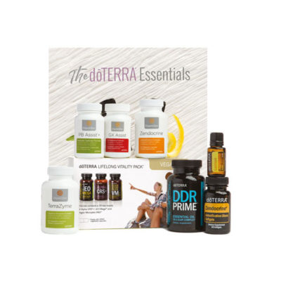 OIL STATEMENTS doTERRA Cleanse and restore vegan kit Enrollment Starterkit