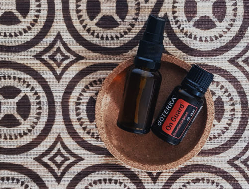 OIL STATEMENTS doTERRA DIY Handreiniger Desinfektion Spray Viren Bakterien